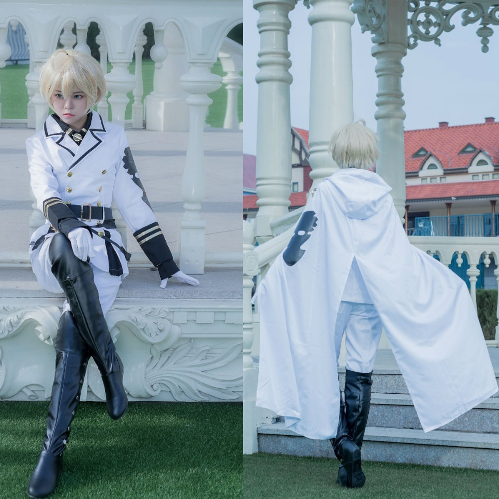 New Owari no Seraph Seraph of the end Ferid Bathory Cosplay Costume Cos clothes