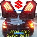 Автомобиль для укладки, Swift Задний Фонарь, 2005 ~ 2012, светодиодные, Свободный корабль! 2 шт., Swift противотуманные фары, автомобиль чехлы, Swift задний фонарь, SX4, Vitara, Jimny, Swift