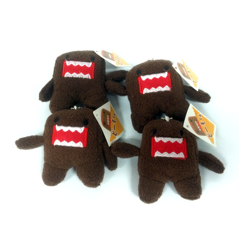 8 CM DOMO KUN Plush toys Phone Charm Pendant Lanyard doll Bag Key chain domokun funny kawaii plush toy 8 cm domo kun plush toys phone charm pendant lanyard doll bag key chain domokun funny kawaii plush toy