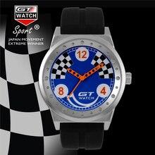 GT Marca Auténtica Italia Hombres Reloj de Moda Frescos de Los Deportes de Competición de Lujo de Reloj de Cuarzo Relojes de Pulsera relogio masculino Hot TOP FD0795