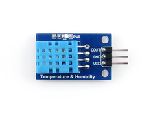 Waveshare 20-95% RH Sensitivity Control Temperature Humidity Sensor Module Detector DHT11 for Raspberry pi DC 3.3-5V Free ship