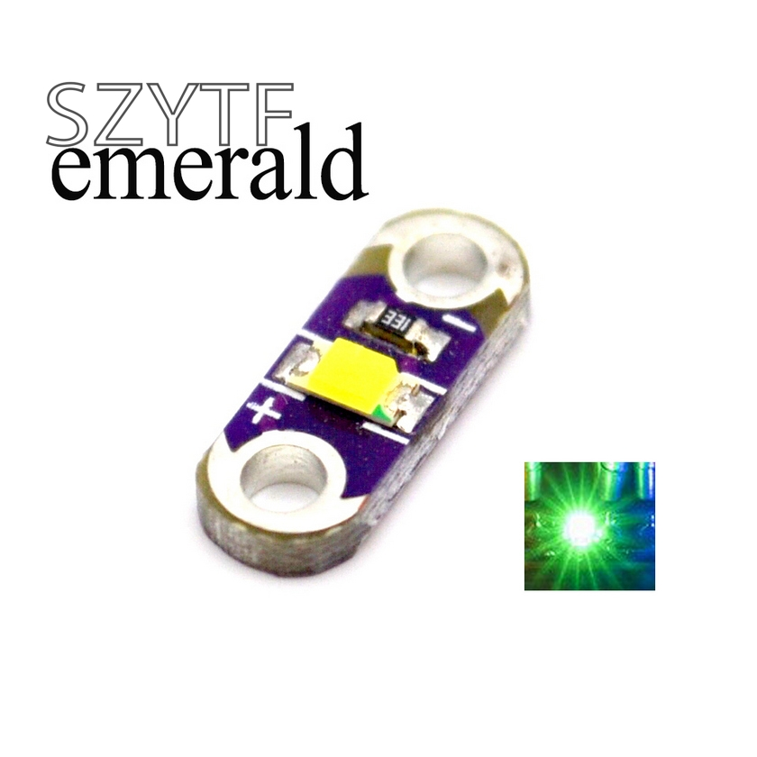 LilyPad LED Emerald Light