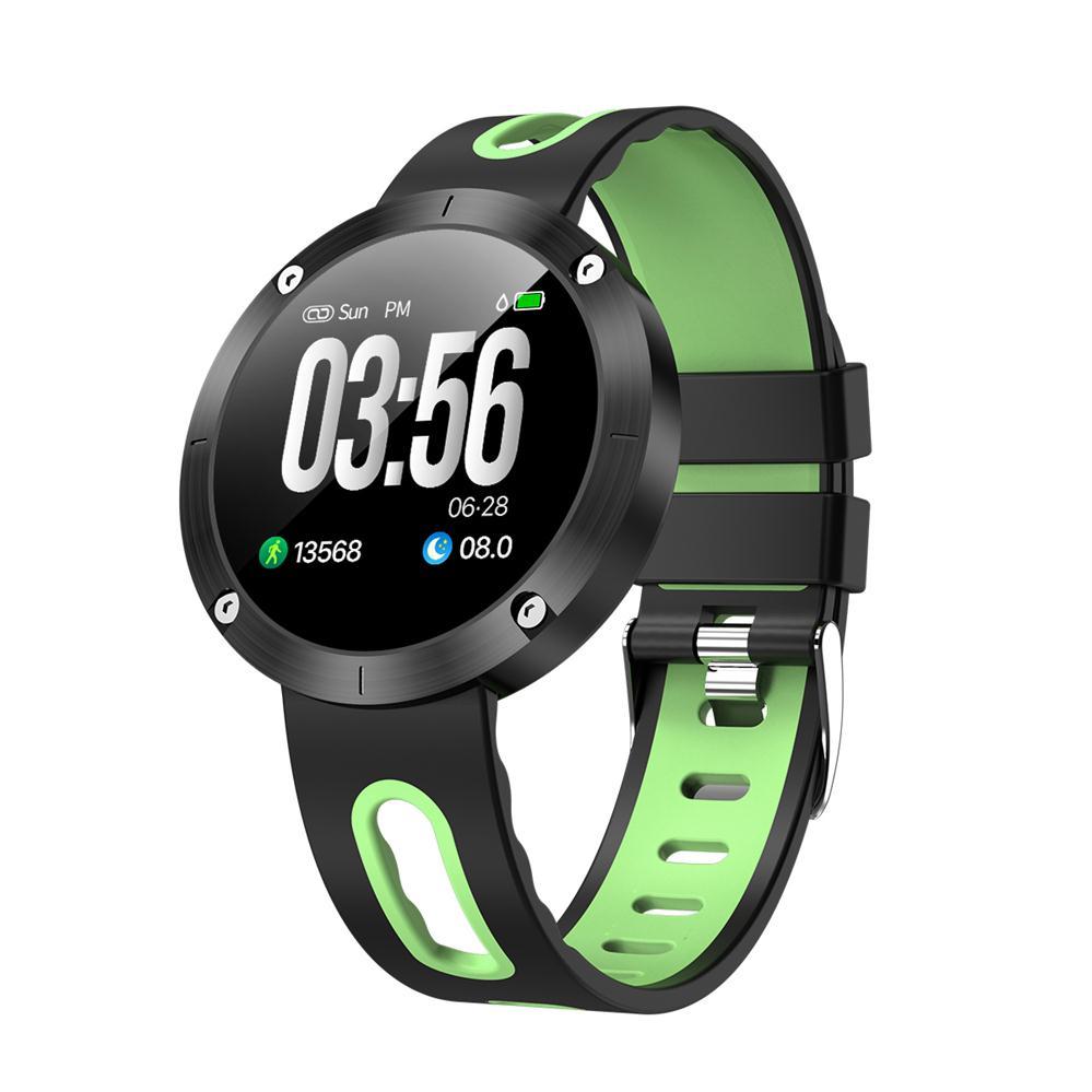 Timethinker DM58 Plus hommes montre intelligente dame Smartwatch Reloj horloge numérique pression artérielle moniteur de fréquence cardiaque Tracker de Fitness IP68