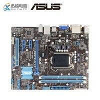 Asus P8B75 M LX Desktop Motherboard B75 Socket LGA 1155 For i3 i5 i7 DDR3 16G SATA3 USB3.0 DVI uATX Original Used Mainboard