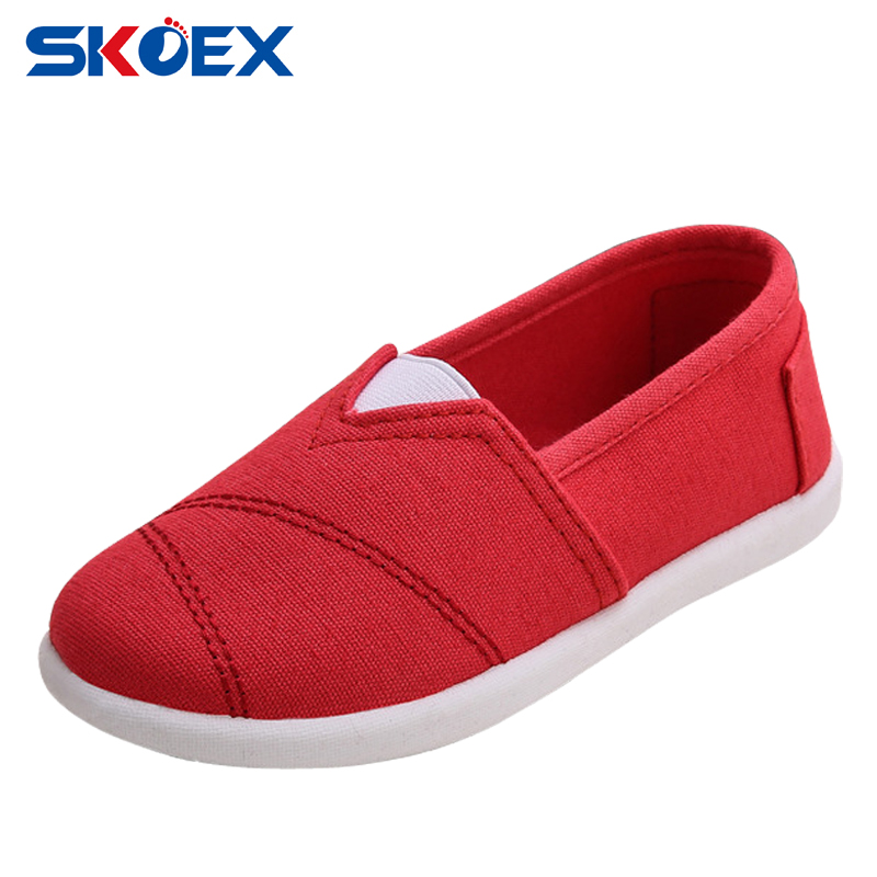New Childrens Plimsolls Boys Girls Canvas Shoes Flat Casual Sneakers Kids Baby Loafers Shoes Espadrilles (Toddler/Little Kid)
