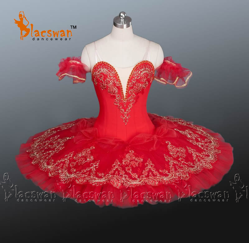 Bright Red Professional Ballet Tutu BT879 De Danse Classical Sale Women - Guangzhou Blacswan Dance & Activewear Co., Ltd. store