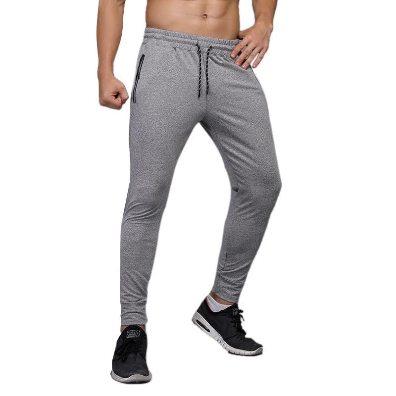 Men Running Pants Long Jogs Football Soccer Training Pant Sports Tennis GYM Fitness Basketball Trousers Thin Sweatpants Cotton цена