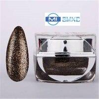 MISMXC 20ML 0.8OZ High Quality Soak Off UV Gel Shiny Colors Glitter Powder Nail Art Builder Gel 059