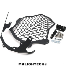 MKLIGHTECH For KTM 1050 1090 1190 1290 Motorcycle CNC Headlight Guard Cover Protector