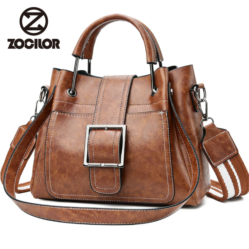 Fashion Women Messenger Bags Vintage Belts Shoulder Bags Women Handbags Designer high quality PU Leather Ladies Hand Bags Sac