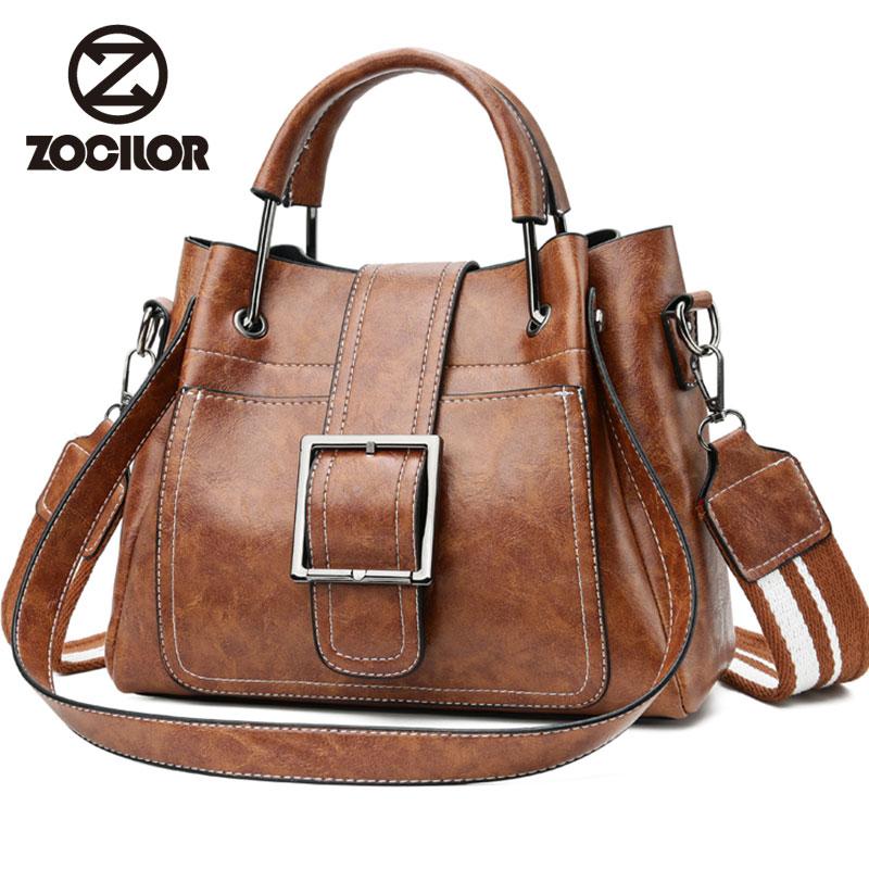 Mode Frauen Messenger Bags Vintage Gürtel Umhängetaschen Frauen Handtaschen Designer hochwertigen Pu-leder Damen Handtaschen Sac