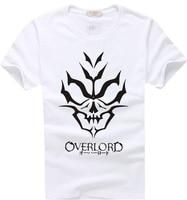 Overlord Skeleton T Shirt Animation Comic Fashion Cosplay