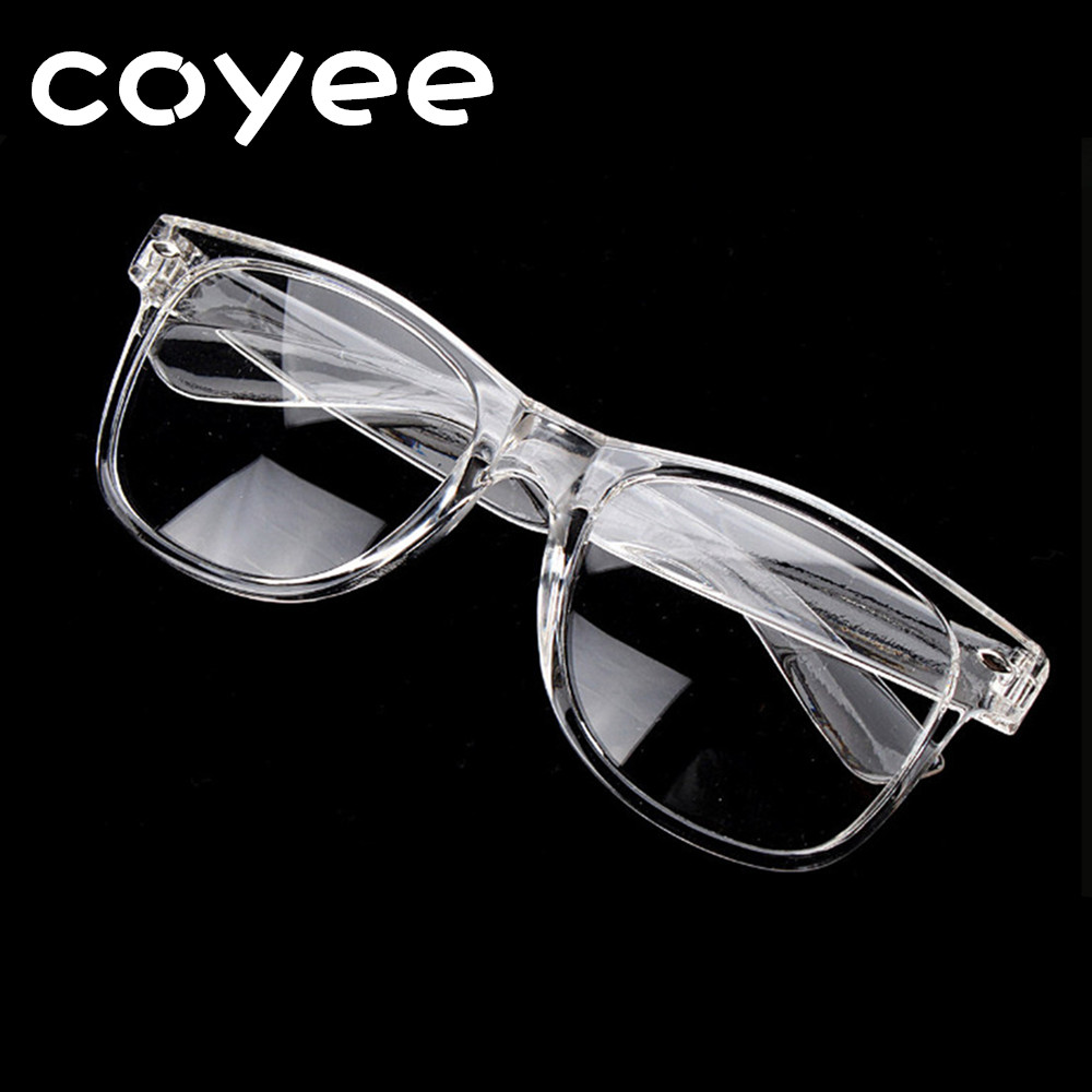 6d73d85852 Coyee Retro Vintage Transparent White Eyeglasses Frames Men Women Eyewear  Women RX Spectacles Glasses Clear lenses-in Eyewear Frames from Apparel ...