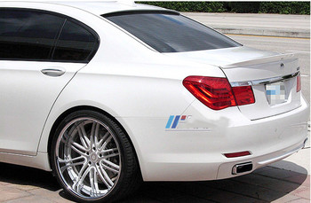 For BMW F01 F02 7 Series Spoiler FRP Material rear trunk wing Lip Spoiler Primer and paint color AC style 2008-2015