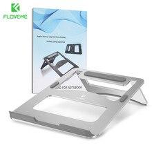FLOVEME Uso Universal Holder Soporte Soporte De Aluminio de Escritorio Plegable Portátil Para Macbook Notebook Soporte Muelle