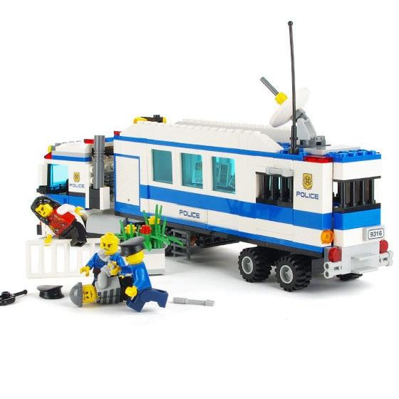 Models Building Toy 9316 City Police Mobile Police Station Unit