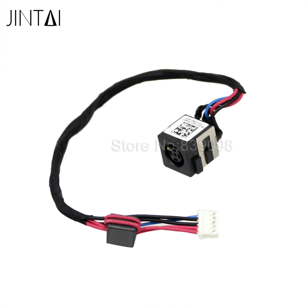 10PCS Jintai LAPTOP DC POWER JACK SOCKET CONNECTOR IN CABLE FOR DELL ...