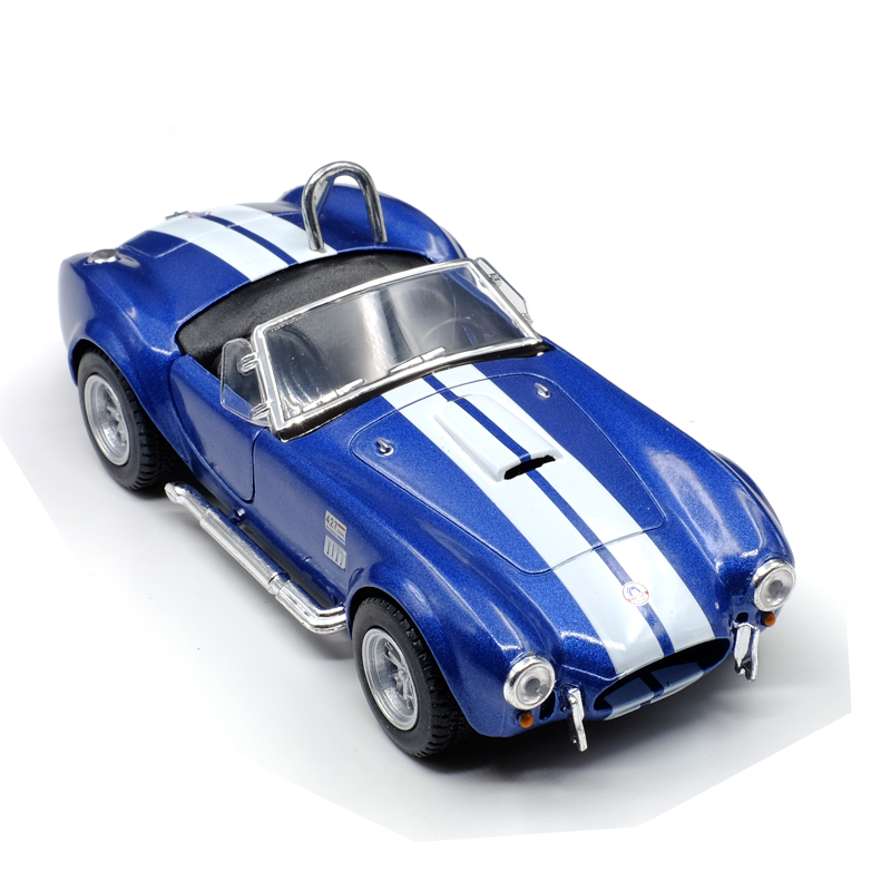 New Kinsmart 1 36 Scale 1965 Ford Shelby Cobra Car Model Toy Pull     New Kinsmart 1 36 Scale 1965 Ford Shelby Cobra Car Model Toy Pull Back and