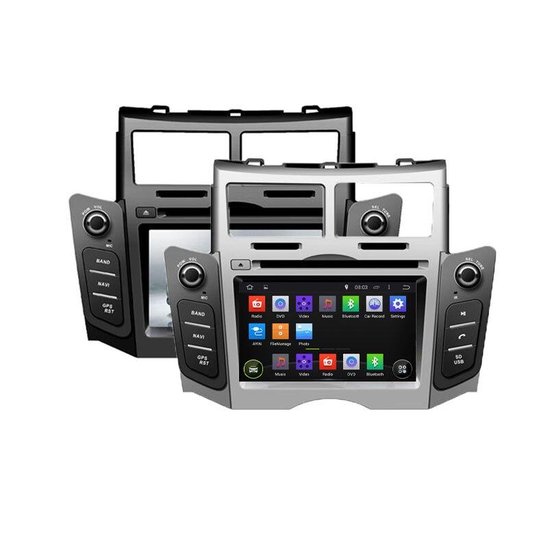 imágenes para Octa/Quad Core Android Para TOYOTA YARIS 2005 2006 2007 2008 2009 2010 2011 Coches Reproductor de DVD de Navegación GPS TV 3G Radio