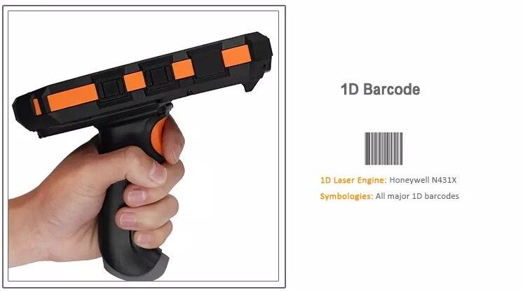 NFC Leitor RFID UHF PDA com aperto de pistola