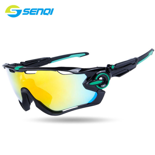 11 Colours Outdoor Riding Glasses Polarized Sunglasses Goggles Windproof Interchangeable Lenses Cycling Eyewear ZZY002