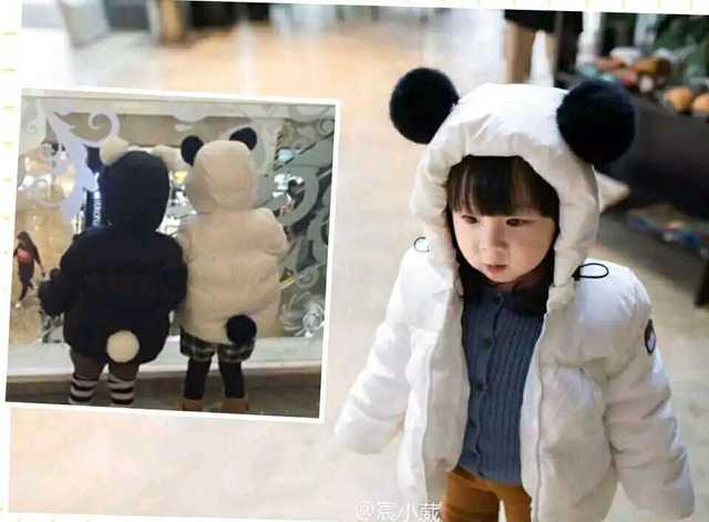 2016 осень зима ребенок мальчик одежда девочка одежда куртки пальто outwears kikikids мультфильм кролик хвост panda дети куртки