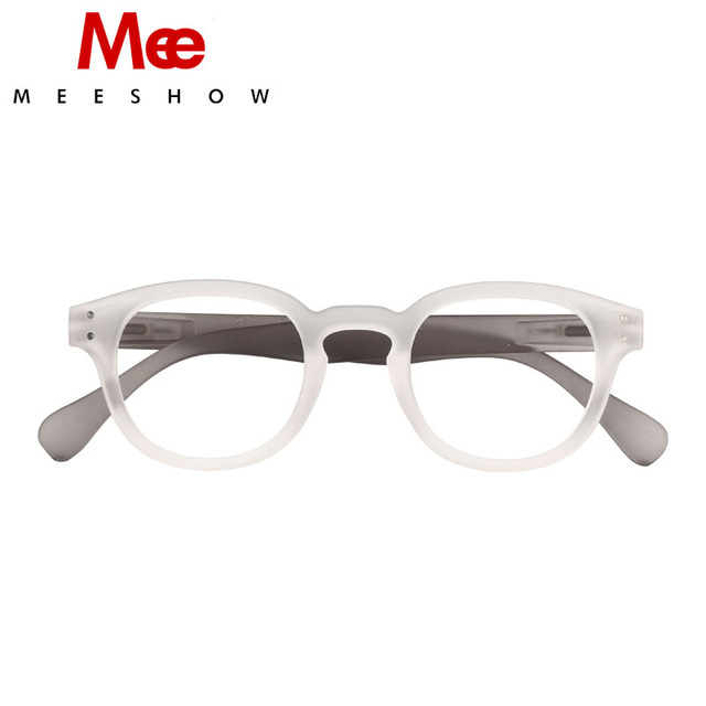 d595f7f2760 2019 Brand Reading Glasses spring new White Retro Europe style Men women  readering glasses with flex French concept 1513