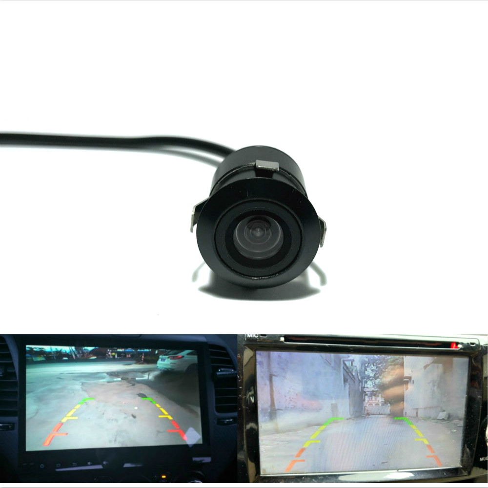 Leemsp CCd HD Colorful 18.5mm Car Rear View Camera Truck Rearview Parking Reverse Backup Auto Camera 170 Degree Waterproof