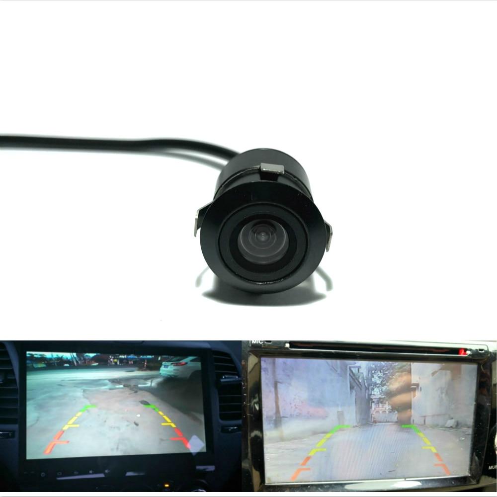 Leemsp CCd HD Colorful 18.5mm Car Rear View Camera Truck Rearview Parking Reverse Backup Auto Camera 170 Degree Waterproof