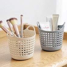 Mini Desktop Storage Trash Basket Creative Fashion Can