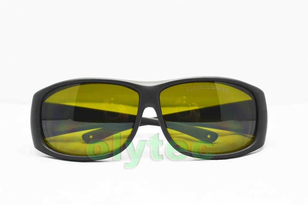 IPL safety glasses (190-2000nm. O.D  4+ CE )