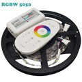 DC12V RGBW 5050 LED Strip 5M/roll 300Leds Flexible Led Light 60LED/m, RGBW RGBWW 5050 LED Strip + 2.4G RGBW LED Controller