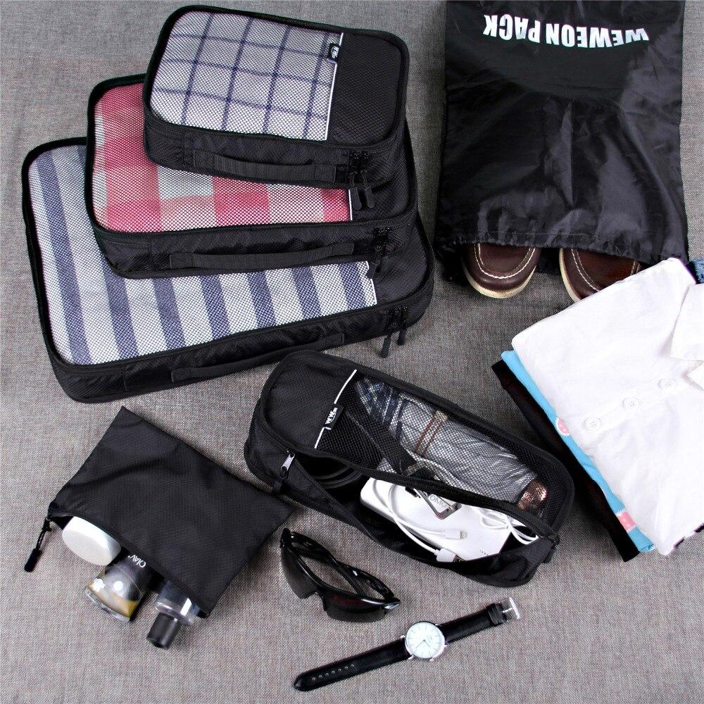 compressão para bolsaagem mala organizador Tipo de Item : Malas de Viagem