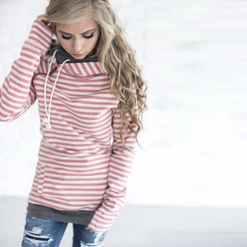 elsvios 2017 double hood hoodies sweatshirt women autumn long sleeve side zipper hooded casual patchwork hoodies pullover femme ELSVIOS 2017  hoodies, Autumn Long Sleeve HTB13hnBcovMR1JjSZPcq6A1tFXac