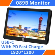 8.9 inch 1920 x 1200 IPS USB C/HDMI With USB PD 45W Fast Charge Portable Monitor (089B)