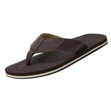 ONTO-MATO вьетнамки мужские летние мужские шлепанцы пляжная дышащая обувь сандалии мужские шлепанцы на плоской подошве chaussure homme
