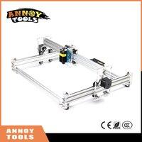 ANNOYTOOLS NEW Laser Engraver 500MW 1600MW 2500MW 5500MW 30X38CM Working Area DIY Mini Laser Engraving Machine