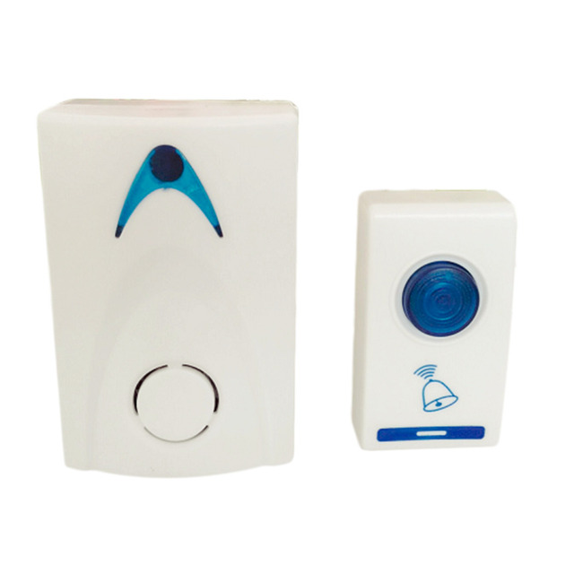 LED Wireless Chime Door Bell Doorbell & Wireles Remote control 32 Tune Songs C1 100M Range for Home Office Hotel