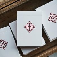 MADISON REVOLVERS Ellusionist White Box Red Deck Magic Playing Cards Magic Poker Props Close up Magic Magic Tricks