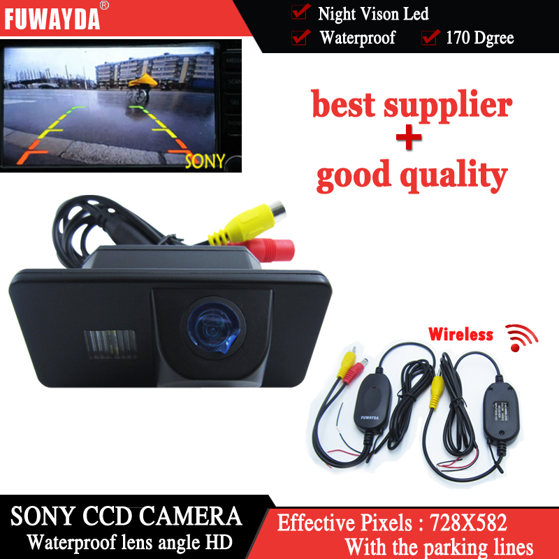FUWAYDA Wireless SONY CCD Car Rear View Parking Back up CAMERA for BMW E81/E87/E90/E91/E92/E60/E61/E62/E63/E64/X5 /X6