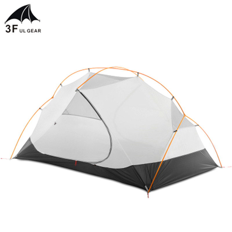 3F Ul Gear 4 Season 2 Person Tent Vents Ultralight Camping Tent Body For MRS Hubba Inner Tent