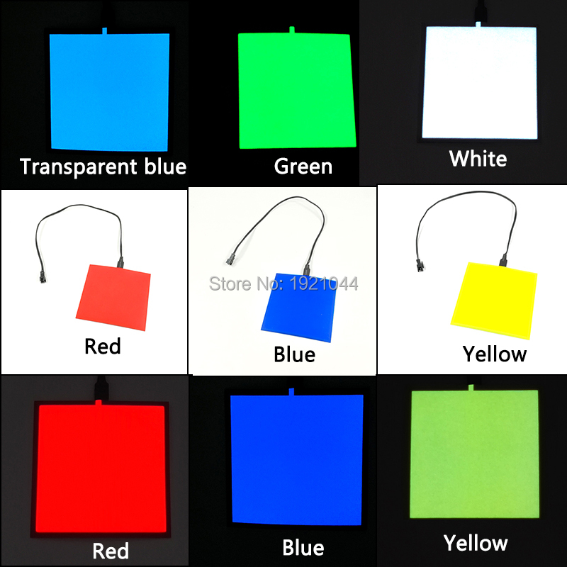 6 colores elección 10X10 cm sin el inversor el hoja el panel para ...