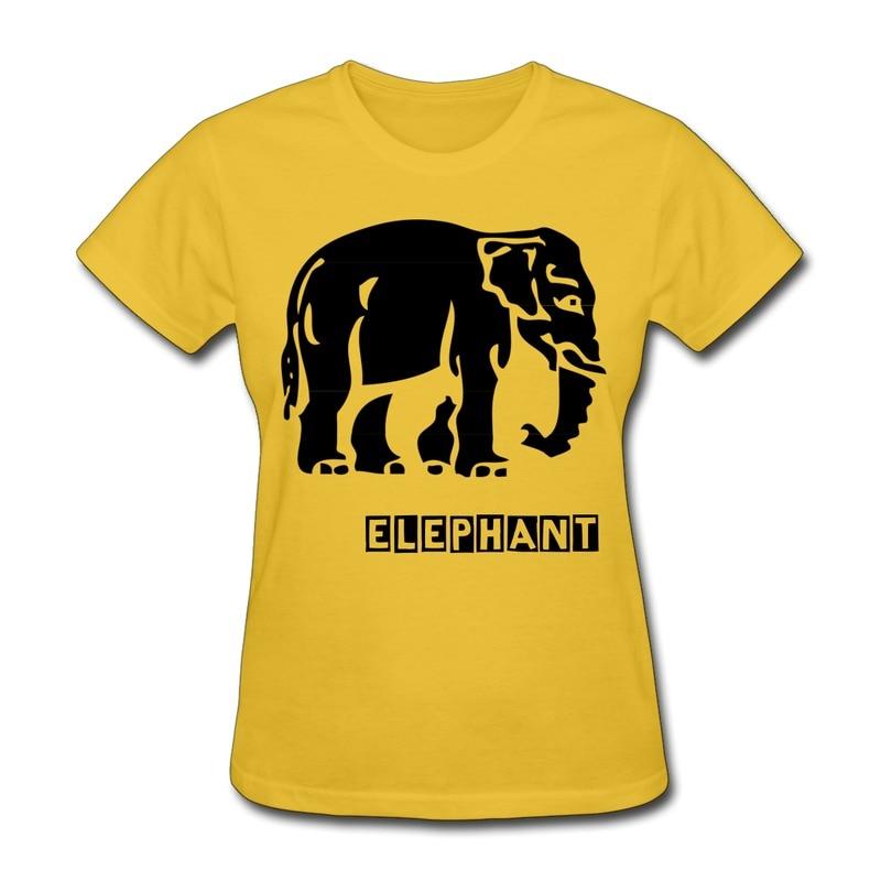 Top Brand Girls 100 Cotton T Shirt Thai Flag Elephant