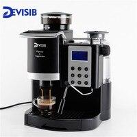 DEVISIB 20 бар Италия тип автоматическая Эспрессо кофемашина с бобовым измельчителем и молоком Frother 1 год гарантии в том числе