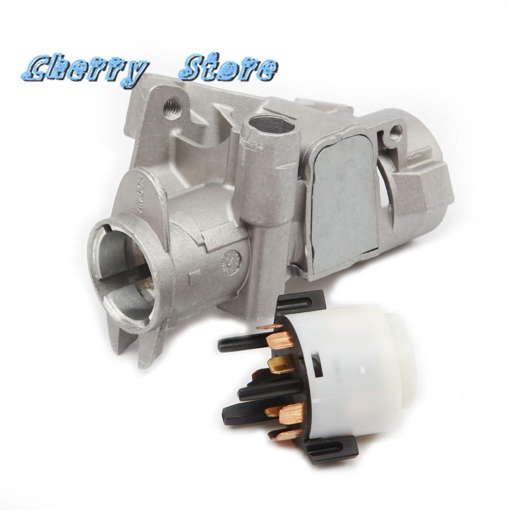 NEW 4B0 905 851 B Steering Lock Housing Ignition Starter Switch 4B0 905 849 For Audi