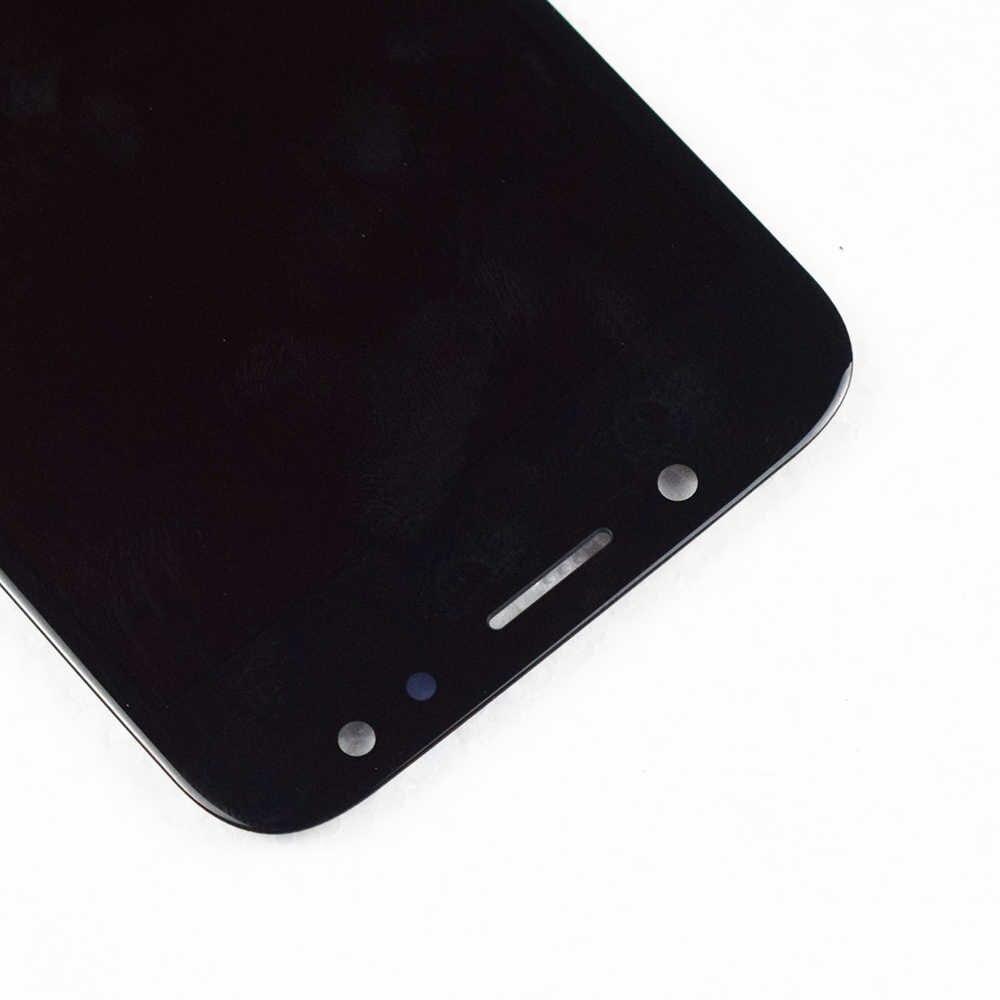 جديد 5.2 ''سوبر AMOLED شاشات lcd لسامسونج غالاكسي J5 2017 عرض تعمل باللمس لسامسونج غالاكسي J5 برو شاشة الكريستال السائل J530 مع الإطار