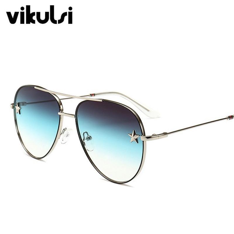 Designer de marca de Moda Unissex óculos de Sol Piloto óculos de Sol das  Mulheres de 27bb0294d3