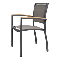 2 ADET Sağlam Tik Ahşap Kapalı/Bahçe Sandalyeler Ev Mobilya Yemek Koltuk