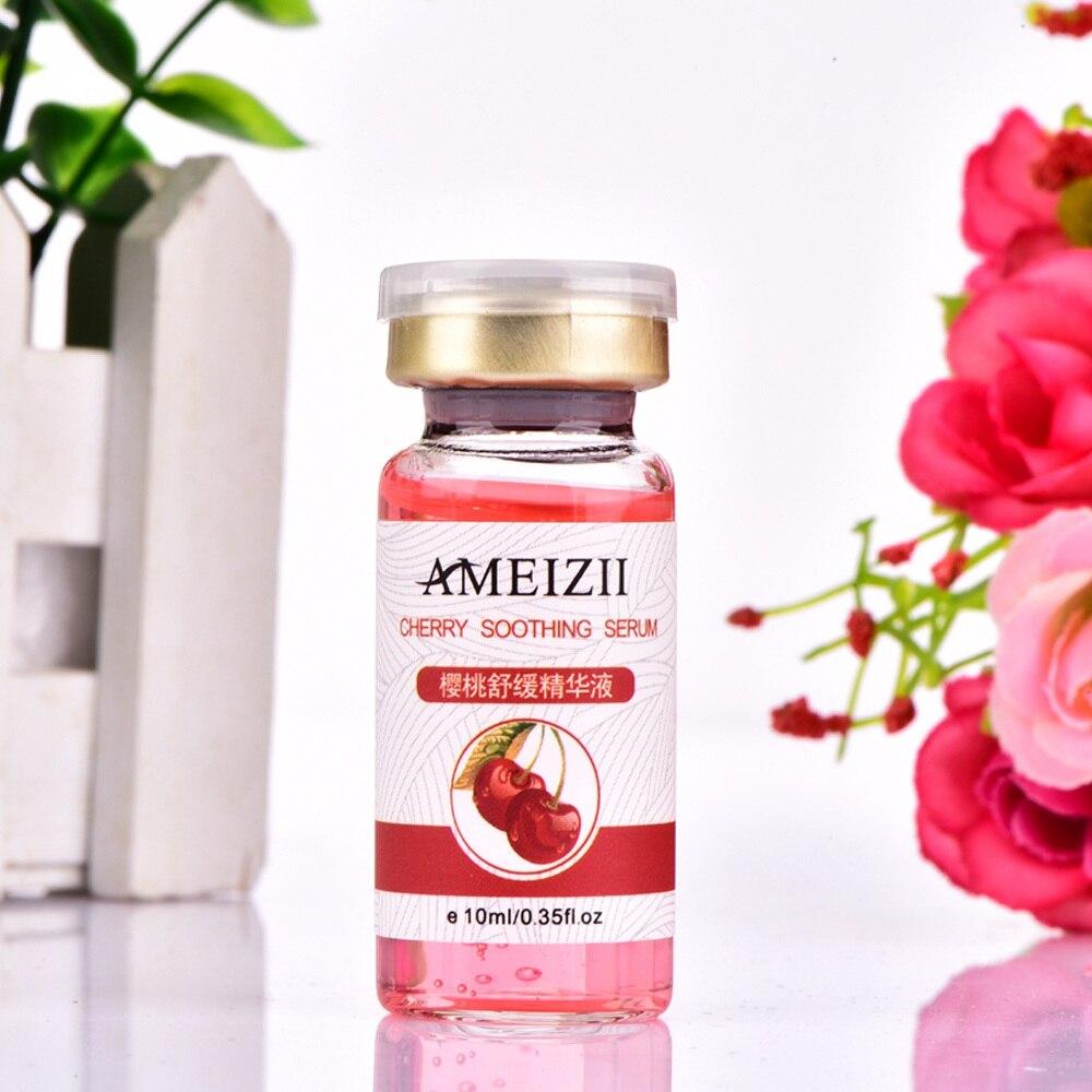 AMEIZII Cherry Whitening Serum Face Moisturizing Cream Shrink Pores Skin Rejuvenation Hyaluronatic Wrinkle Anti Aging Firming