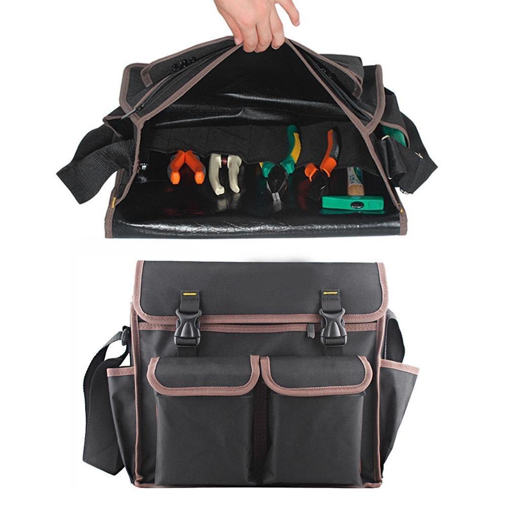 cde91c3a36db Сгущает Оксфорд Multi Funtional аппаратные средства набор инструментов  плечевой ремень сумки для инструментов рюкзак см 35